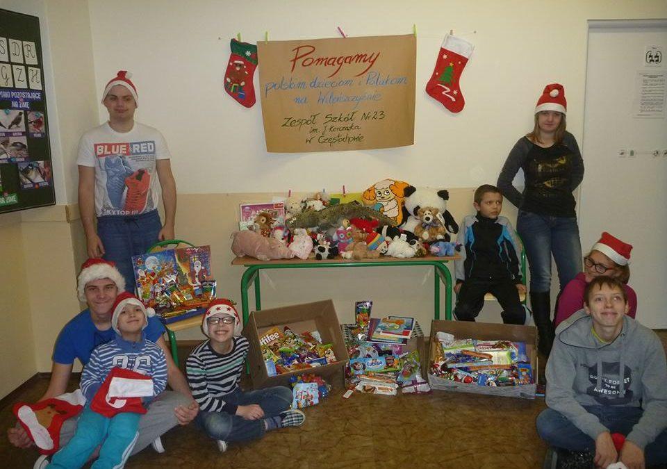 Pomagamy polskim dzieciom na Wilenszczyźnie