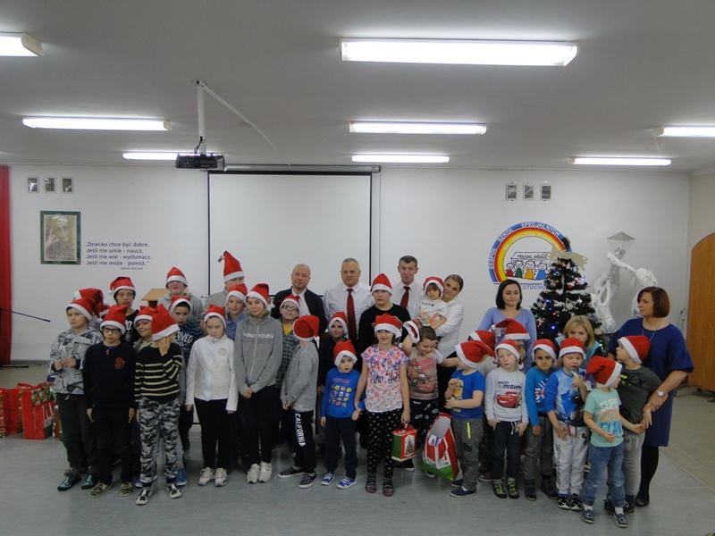 Spotkanie z Mikołajem ze Sklepu Auchan Częstochowa Północ