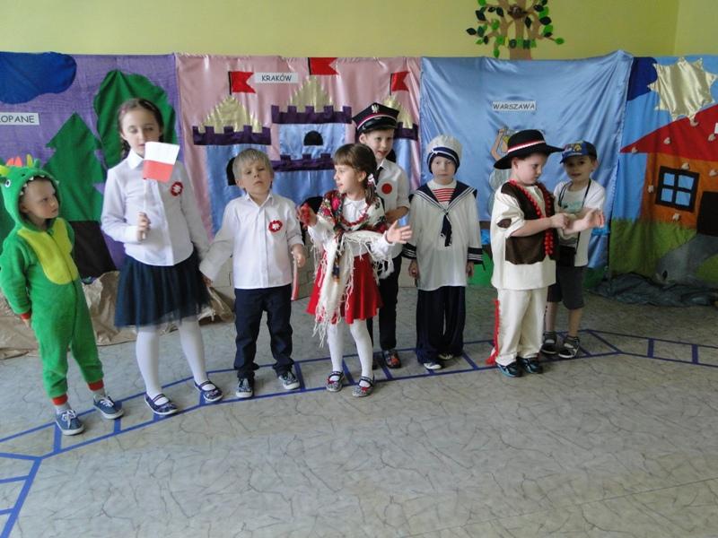 """Konkurs teatralny dla przedszkoli """"Polska – to taka kraina, która się w sercu zaczyna"""""""