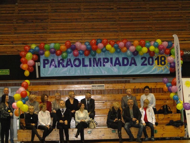 """Konkurs Gier i Zabaw Ruchowych """"Paraolimpiada 2018"""""""