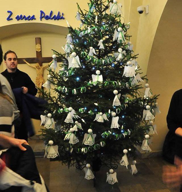Choinka w Radio Jasna Góra