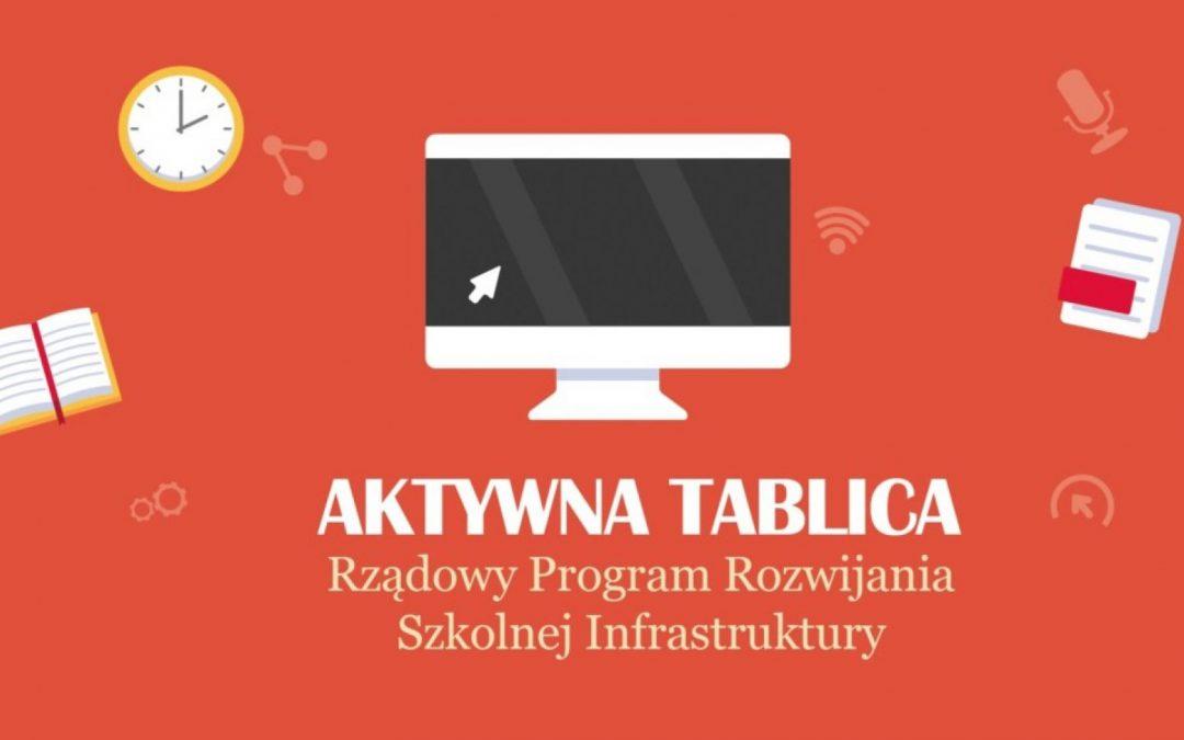 "Program ""Aktywna tablica"""