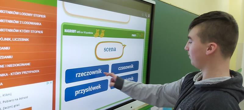 Aktywna tablica na języku polskim