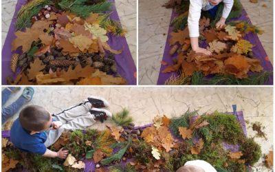 Jesienny Kocyk Sensoryczny